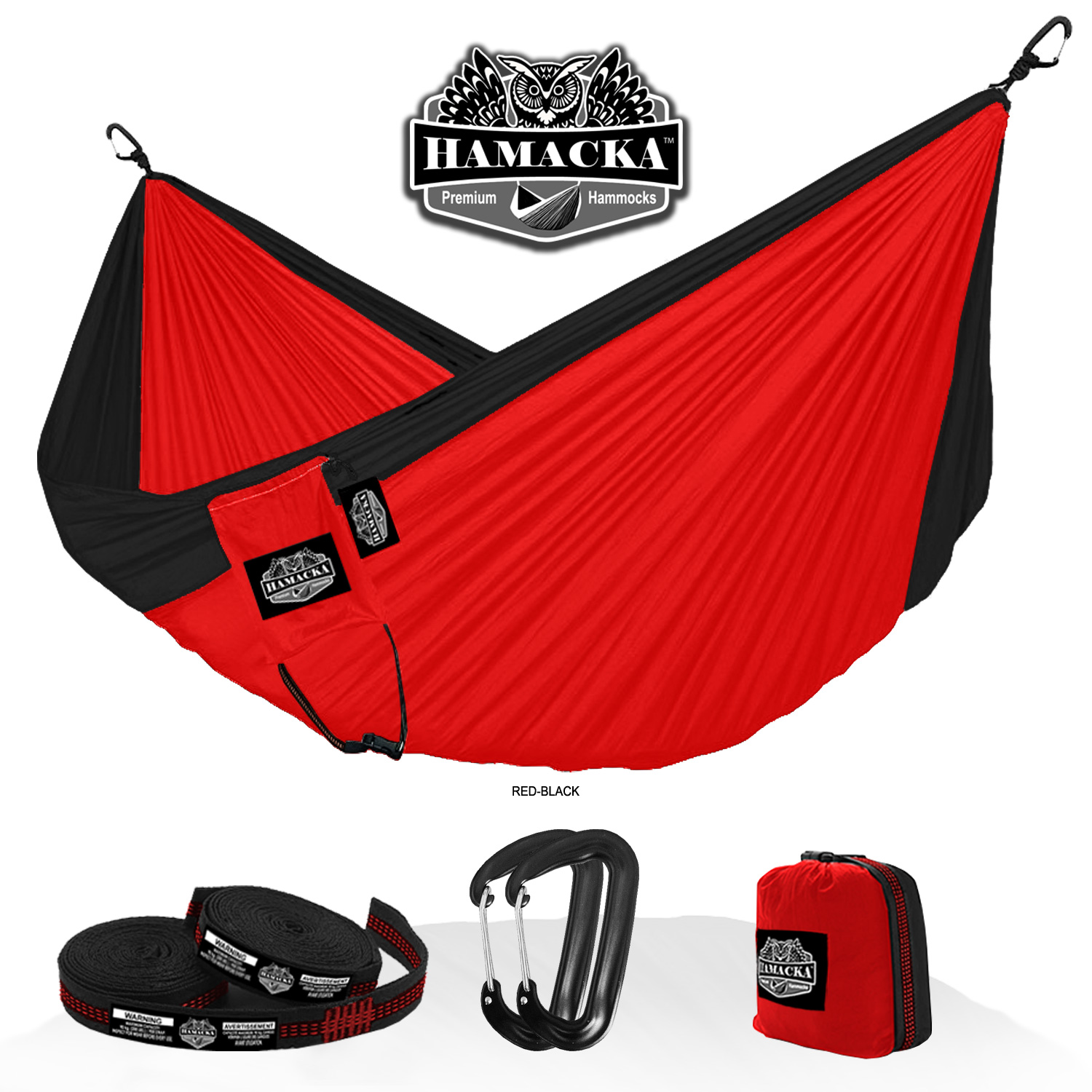 TRAVEL HAMMOCK SET (RED)